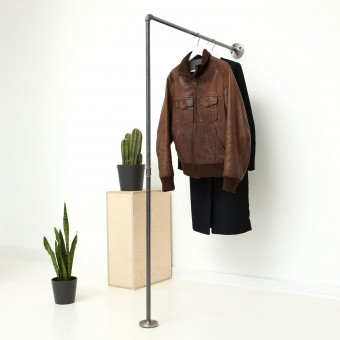various Industrial Design Garderobe, Kleiderständer & Kleiderstange für Wandmontage STAND