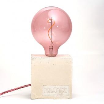 Klotz Betonlampe 'Kirschklotz'