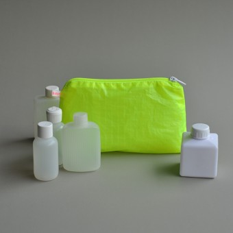 kolor magic pouch with zipper / Kulturbeutel klein