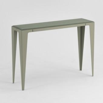 KONSOLE |CHAMFER| Lavendelblatt-Grün | nachhaltiges Möbeldesign | WYE