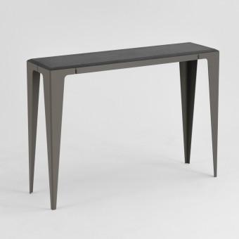 KONSOLE |CHAMFER| Schiefer-Schwarz | nachhaltiges Möbeldesign | WYE