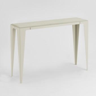 KONSOLE |CHAMFER| Seiden-Grau | nachhaltiges Möbeldesign | WYE