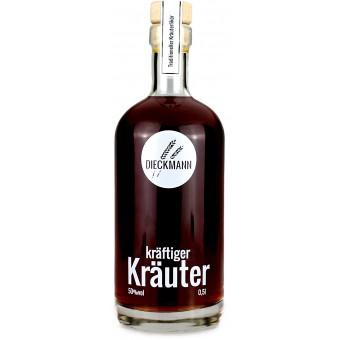 Weizenbrennerei & Likörmanufaktur Dieckmann kräftiger Kräuter Kräuterlikör LIKÖR 50%vol., 0,5l