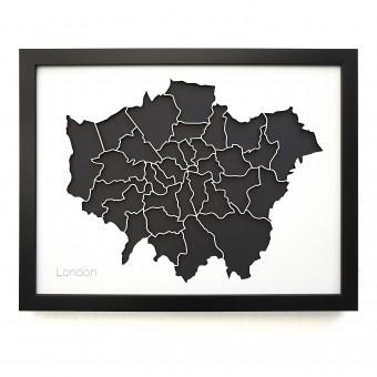 Frau Schneize 3d Stadtteile LONDON