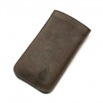 Love Leather iPhone 6 / iPhone 7 - darkbrown (Leder)