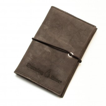 Love Leather Smoking Pouch - Leder Tabaktasche (darkbrown)