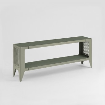 LOWBOARD CHAMFER lavendelblatt-grün | nachhaltiges Möbeldesign | WYE
