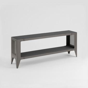LOWBOARD CHAMFER schiefer-schwarz | nachhaltiges Möbeldesign | WYE