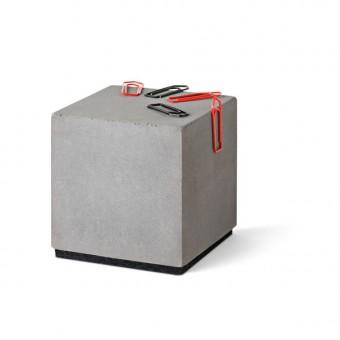 """Korn Produkte Magnetischer """"Block"""" aus Beton"""