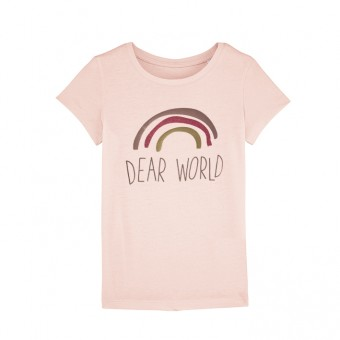 melike Girls T-Shirt dear world