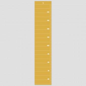 punktkommastrich - Messlatte für Kinder - spicymustard