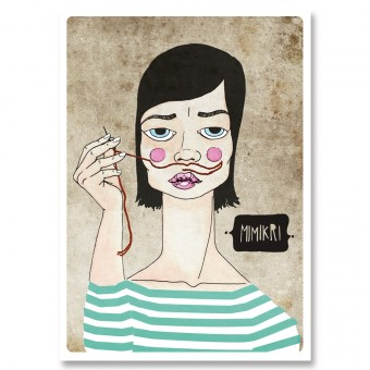 great-handmade *Mimikri! Postkarten Set