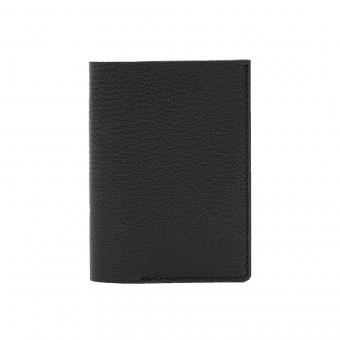 Mini Portemonnaie in schwarz - aus premium pflanzlich gegerbtem Ziegenleder