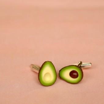 minischmidt miniGARTEN Avocado Manschettenknöpfe