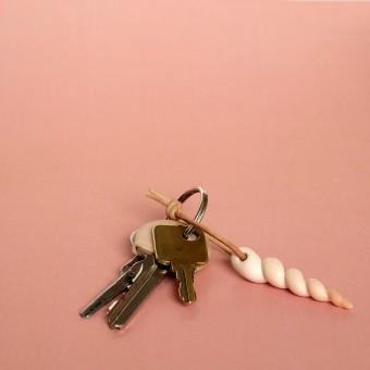 minischmidt miniHELMUT Ein Horn Schlüsselband