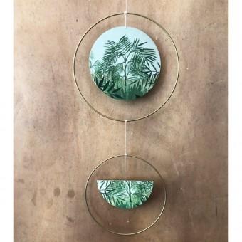 madeva Holzliebe Mobile Pflanzen