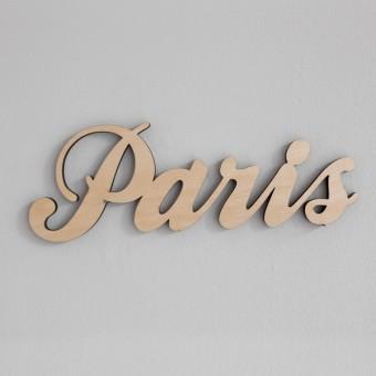 MOTIVSCHNITT Paris Wandobjekt (natur)