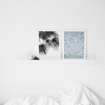 na.hili endless summer SET WIND & WATER Artprint A3 Poster