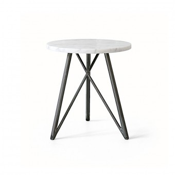 NUTSANDWOODS Side Table Marmor