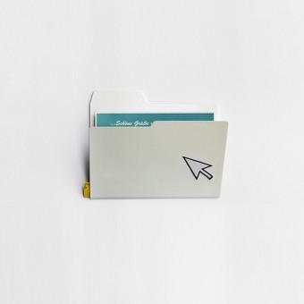 Njustudio Neuer Ordner Mini, DIN A6 (weiß, einzeln oder im 3er-Set)