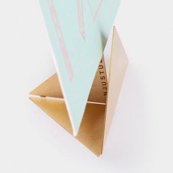 Njustudio Hold – Instant Bilderrahmen/Fotohalter, Triangle