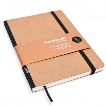 Notizbuch A5 softcover, Handmade wie Moleskin