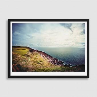 Landschafts-Fotografie Normandie Posterprint DIN A1