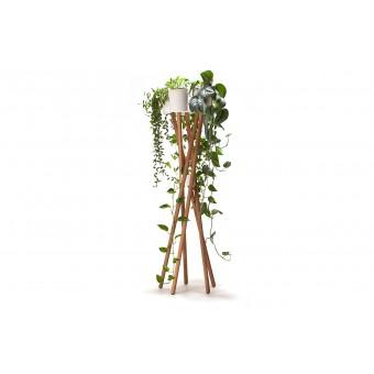 """urbanature Pflanzenständer """"Hochgarten"""" EICHE/BETON"""