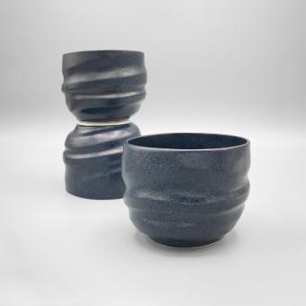 Tasse »Granit-Blauschwarz«  von Frank Mees