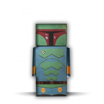 Boba Fett | Star Wars | Paper Dude