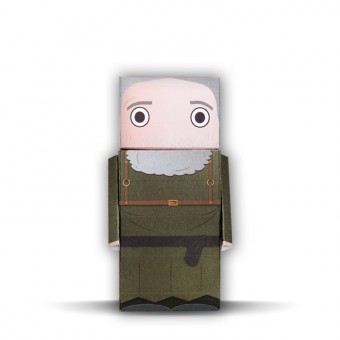 Hodor | Dudes of Thrones | Paper Dudes