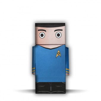 Mr. Spock | Star Trek | Paper Dudes