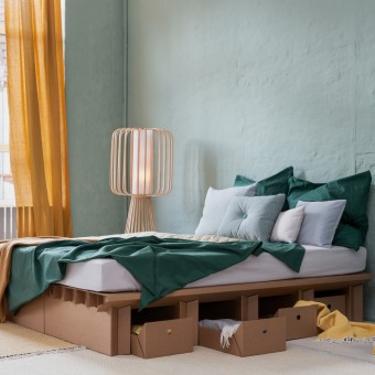 STANGE DESIGN Pappbett DREAM 180 cm