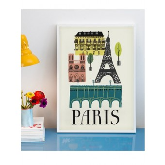 Human Empire Paris Poster (50x70cm)