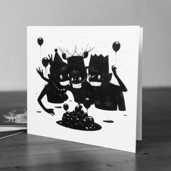 Krools Design Postkarten Tattoo – Party (4er Set)