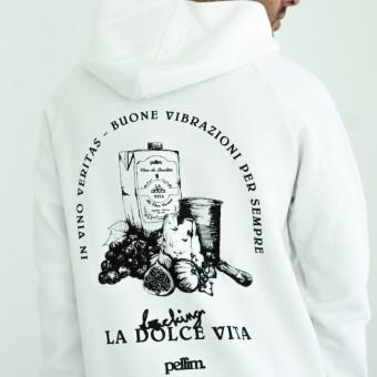 pellim. vino hoodie