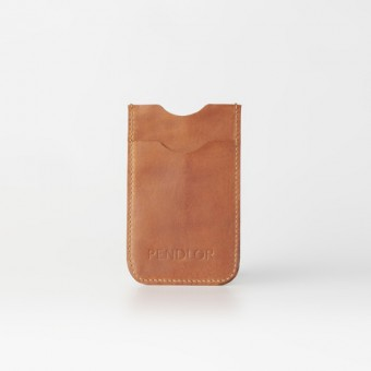 PENDLOR Smartphone Sleeve (cognac) iPhone 5