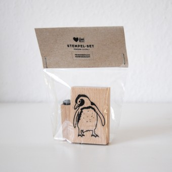 finicrafts Stempel-Set Pinguin