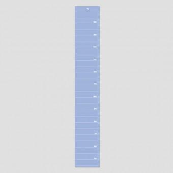 punktkommastrich - Messlatte für Kinder - serenity