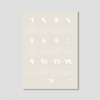 kalender 2019 tofu Designwandkalender