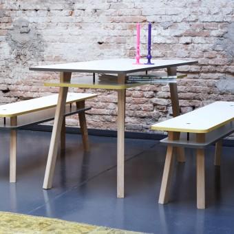 pliet Twain Table bicolor Tisch