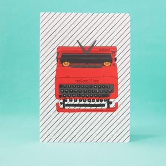polypodium / Notizheft - A5 - Olivetti Valentine