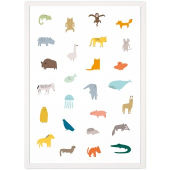 Human Empire So Many Animals Poster (50x70cm)