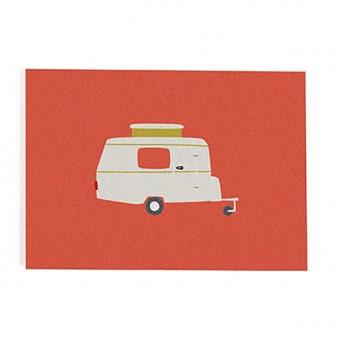 """""""Wohnwagen"""" Postkarte von Roadtyping"""