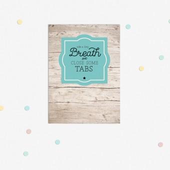 "sonst noch was? Postkarte ""Relax"" (3er Set)"