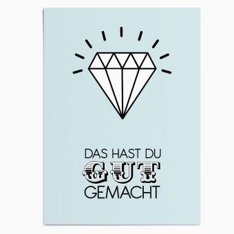 "sonst noch was? Postkarte ""Lobhudelei"" (3er Set)"