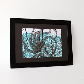 Bon Matin Oktopus No. 1 Postkartenset