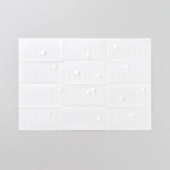 Populäre Produkte Wandplaner 2019 Just White
