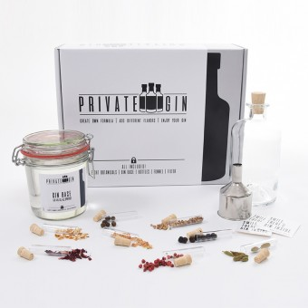 Private-Gin Gin Baukasten - DIY Gin Set