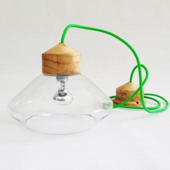 StockhausenDesign Transparent REFLEX lamp_green